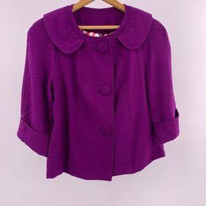 Ambition Purple Blazer